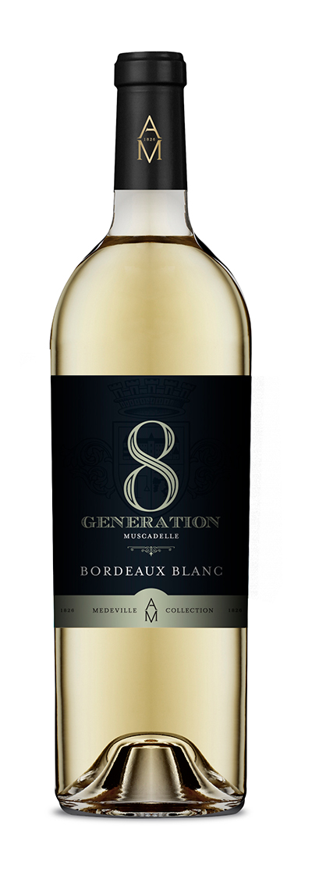 8eme generation blanc,8 eme generation, medeville collection, vins bordeaux
