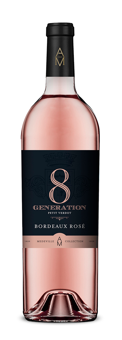8eme generation rosé,8 eme generation, medeville collection, vins bordeaux