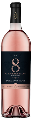 8eme generation rosé, vins medeville collection
