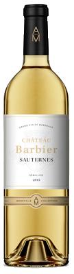 chateau barbier sauternes, vins sauternes