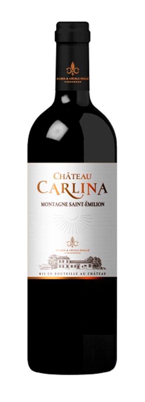 carlina chateau, vins montagne saint emilion