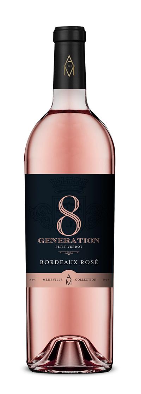 8eme generation rosé,8 eme generation, medeville collection, vins bordeaux